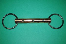 Loose Ring Copper Whistle Bit
