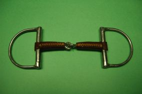 D Ring Leather Covered Bit