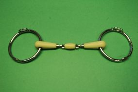 French Mouth Happy Mouth Loose Ring Bit with 12/5 Loops