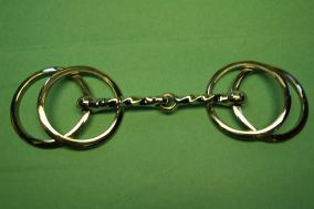 Twisted Wilson Loose Ring Never Rust