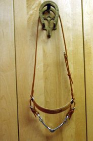 Custom Leather Steel Bosal