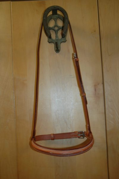 Fancy Stitched Noseband