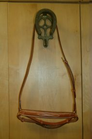 Raised Fancy Stitched Crank Noseband