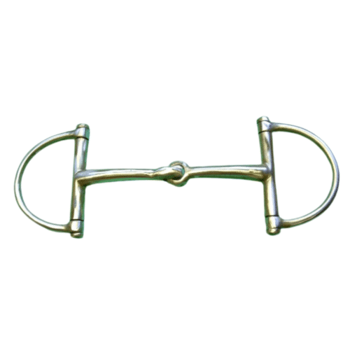 Brass Jointed Snaffle D Ring