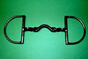 French Hinge Twisted D Ring