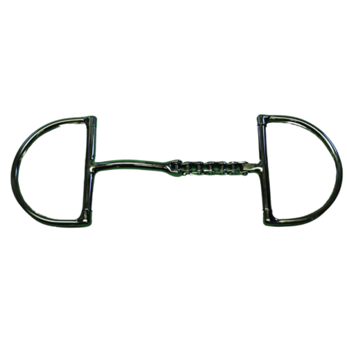 Bike chain Snaffle Combination D Ring