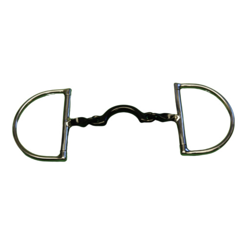 D Ring Cutoff with 3/8 Twisted Bars