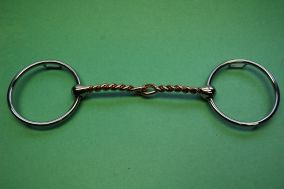 Loose Ring Copper Twisted Wire Mouth with 12/5 Loops