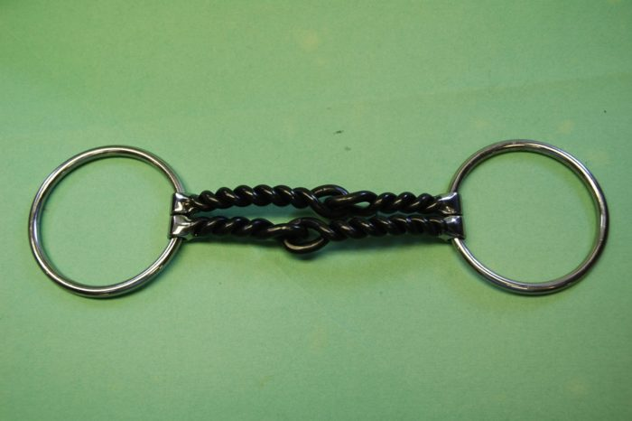 """3/16"""" Double Twisted Wire Loose Ring Bit"""
