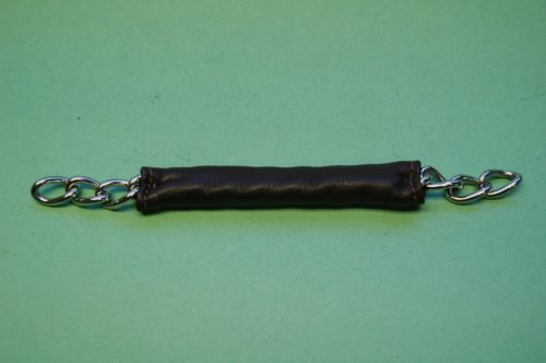 Walsh Leather Covered English Curb Chain