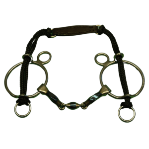 Bomber Square Twisted Lozenge Gag Curb Bt
